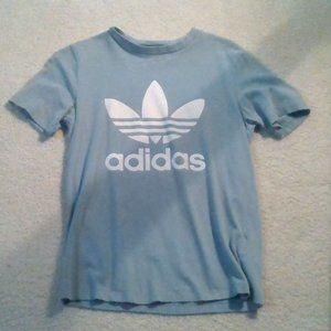 Adidas Blue-Grey Tee